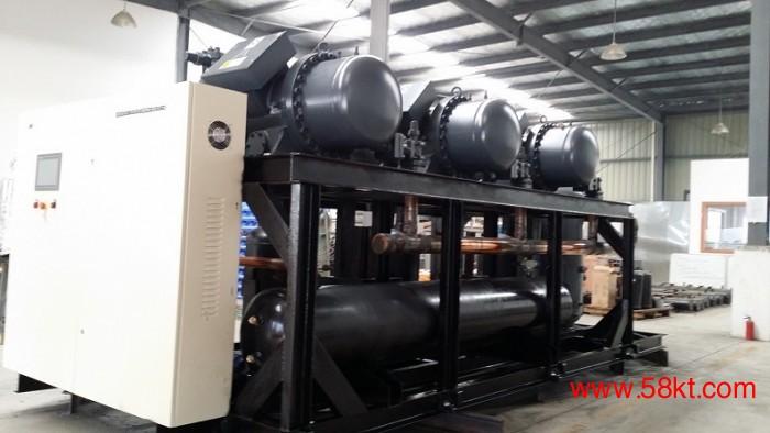 低温盐水冷水机并联机组