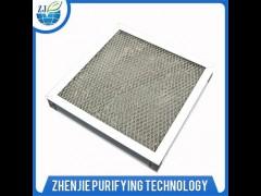 电子厂金属板式过滤器全铝网