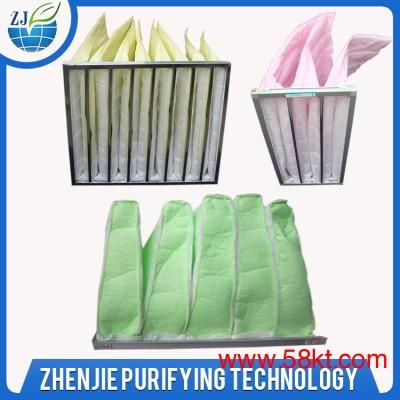 制药厂袋式过滤器静电棉中效过滤