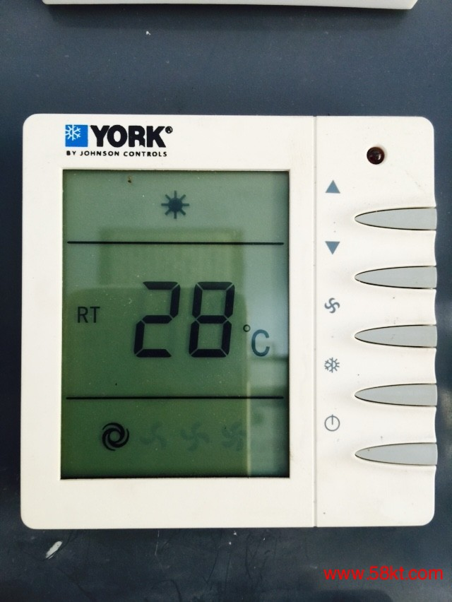 西门子约克中央空调温控器温控器