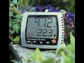 LED报警温湿度表