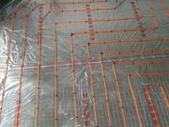 电地暖24k碳纤维发热线安装