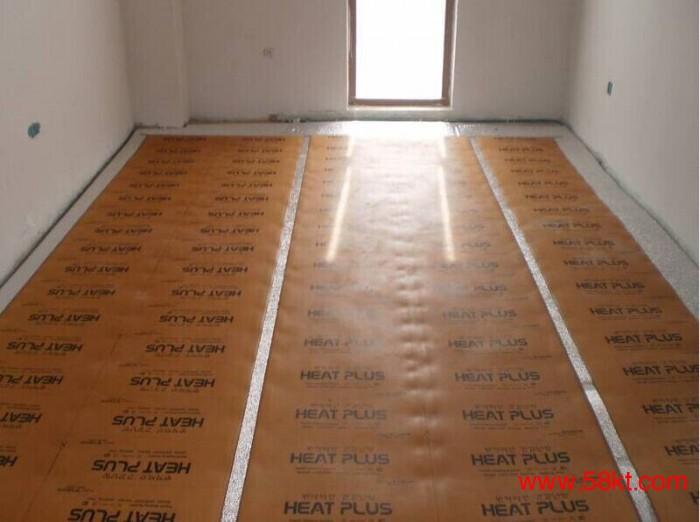 韩国电地暖安装施工