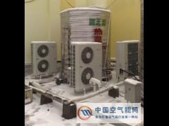 工厂空气能热水器安装