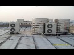 桑拿沐足空气能热水器安装