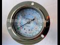 鸿森低压油表HS-OG-1