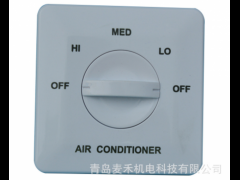 央空调风机盘管温控器, 调速开关 三速开关