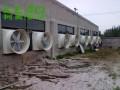 工厂超市商城玻璃钢负压风机安装