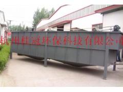 涡凹气浮机, 用于工业污水与城市污水的净化处