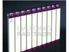 进口塑粉静电喷涂铜铝复合散热器