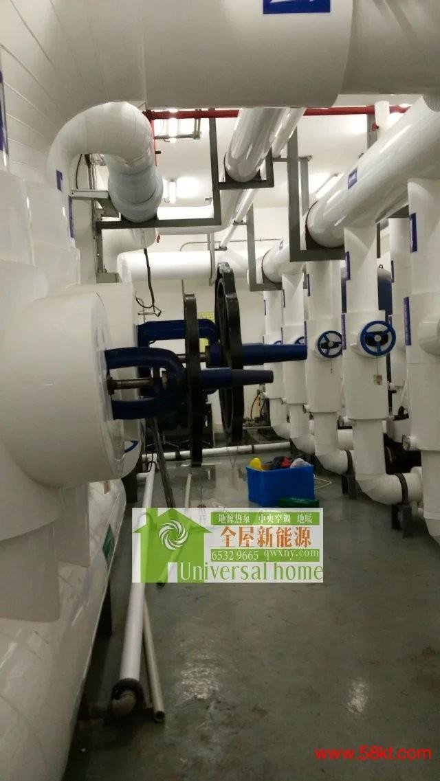 地表水地源热泵系统