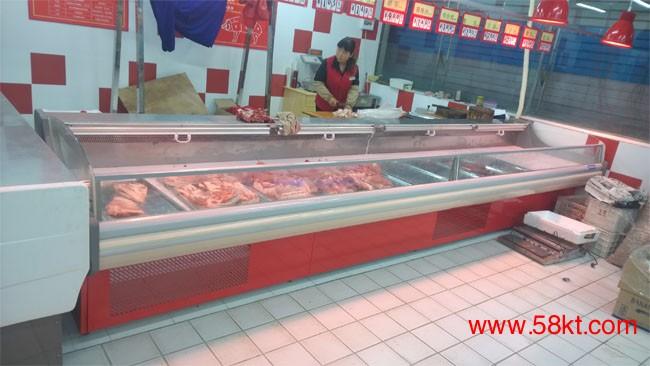 武汉梅花分流式出风超市鲜肉柜