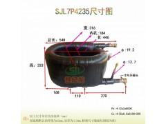 7匹管式换热器高效螺旋换热器