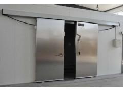 天津红旗L型电动平移冷库保温门