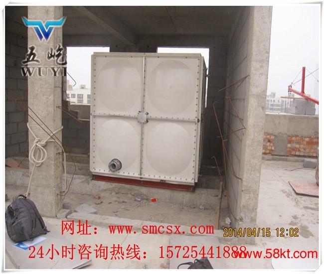 五屹青海玻璃钢生活水箱