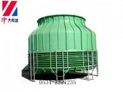DBNL低噪声圆形逆流式玻璃钢冷却塔
