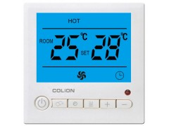 中央空调温控器, 风机盘管、三速开关、定时开关机