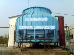 120吨开式逆流冷却塔圆型冷却
