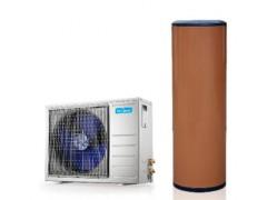 美的分体式空气能热泵热水器