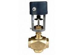 电动调节阀, 用于热水、冷水、低压蒸气