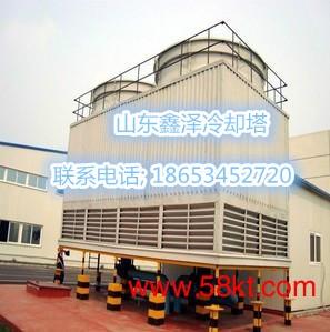 耐高温开式冷却塔|玻璃钢逆流塔