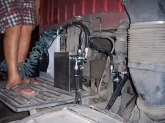 大卡车电动空调