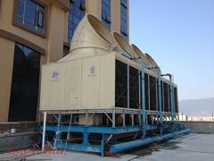 酒店用超低噪音横流方型冷却塔