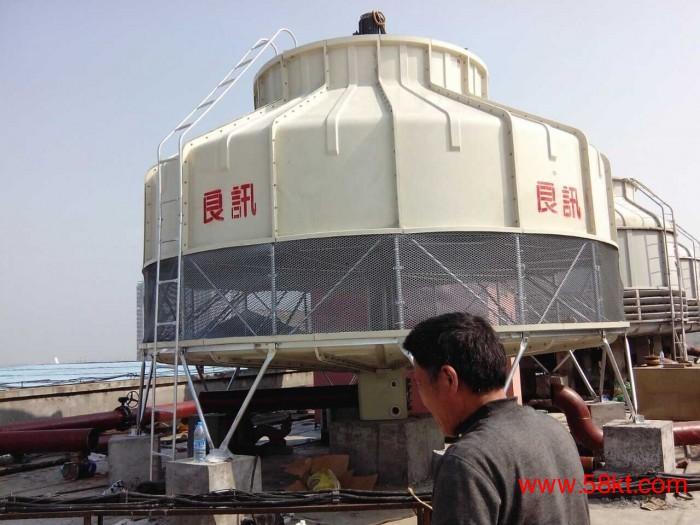逆流式圆形玻璃钢冷却塔