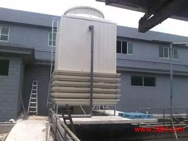逆流低噪音方形冷却塔