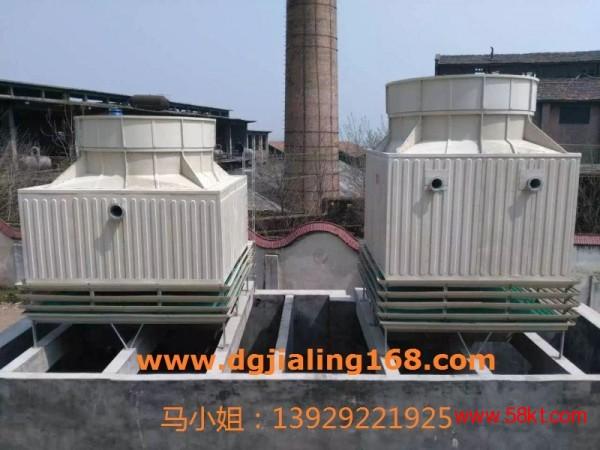 汕头超低噪音方形冷却塔500吨