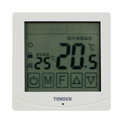 手机大屏液晶显示触摸型温控器