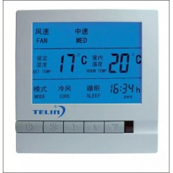 宽屏液晶显示空调温控器