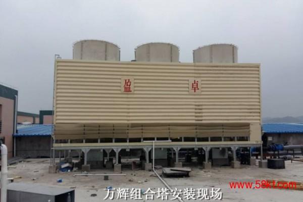 盈卓低噪音横流式1000T水轮机方塔