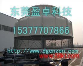 盈卓圆形低噪音水轮机冷却塔
