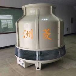 小型圆塔逆流式玻璃钢冷却塔30吨