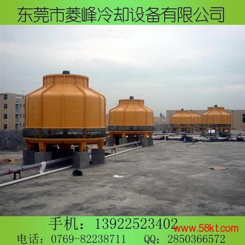 东莞大朗圆形玻璃钢冷却塔100吨