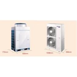 北京格力变频中央空调工程安装