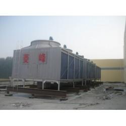 广东方形横流式125吨冷却塔