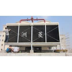 岳阳市 方形横流式玻璃钢冷却塔15吨