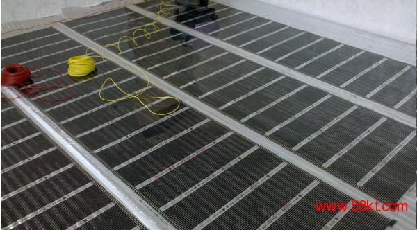 安装中电地暖案例实拍效果图