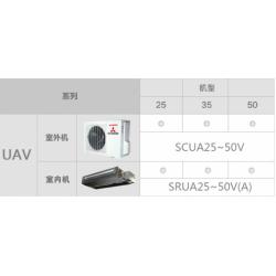 三菱重工家用中央空调 UAV 系列