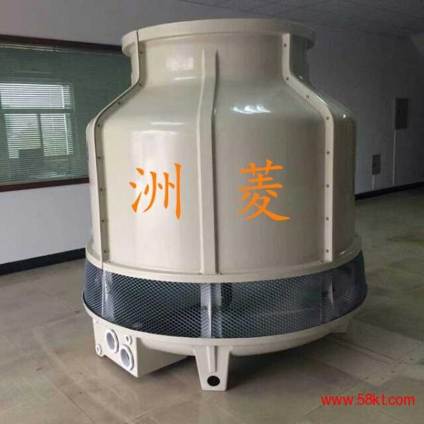 武汉圆形逆流式玻璃钢冷却塔100吨