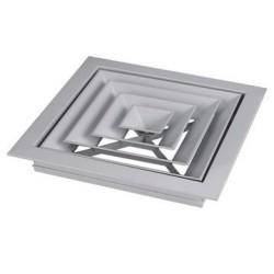 方形散流器和圆形散流器