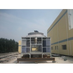 甘肃100T方形横流式冷却塔