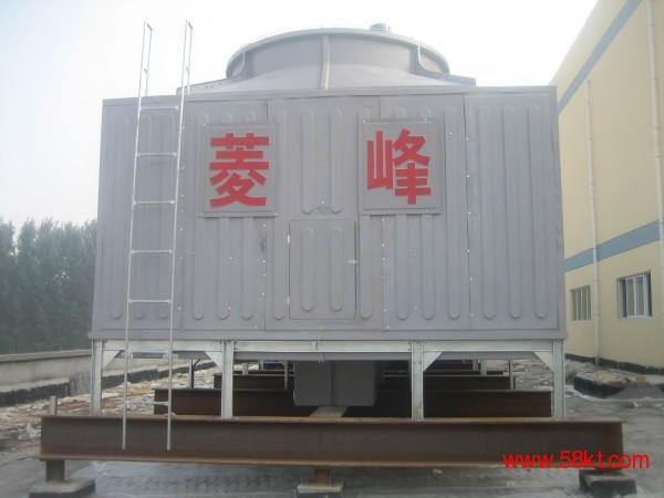 北京方形横流式玻璃钢冷却塔500吨