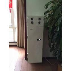 兰舍立柜式热交换除霾新风机, 每小时380立方米精准解决了壁挂式产品风量小的问题