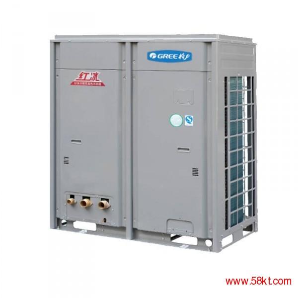 北京房山地区格力空气能地暖热水一体机工程