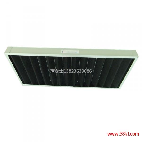 中央空调风柜用子母架式初效活性炭过滤器