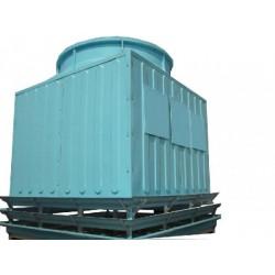 德州鑫泽工业方形玻璃钢逆流式通风冷却塔