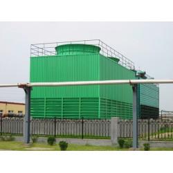 德州鑫泽 工业型低噪音玻璃钢方形冷却塔